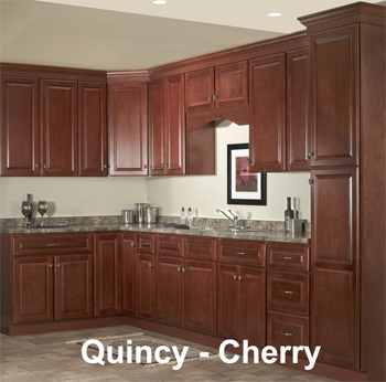 Kitchen remodel in Quincy Cherry