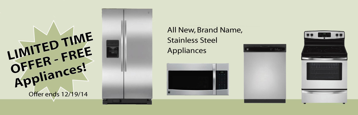 Sears kenmore appliance package deals