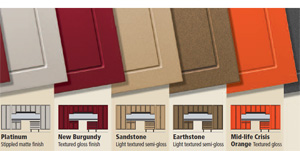 garage cabinet finishes